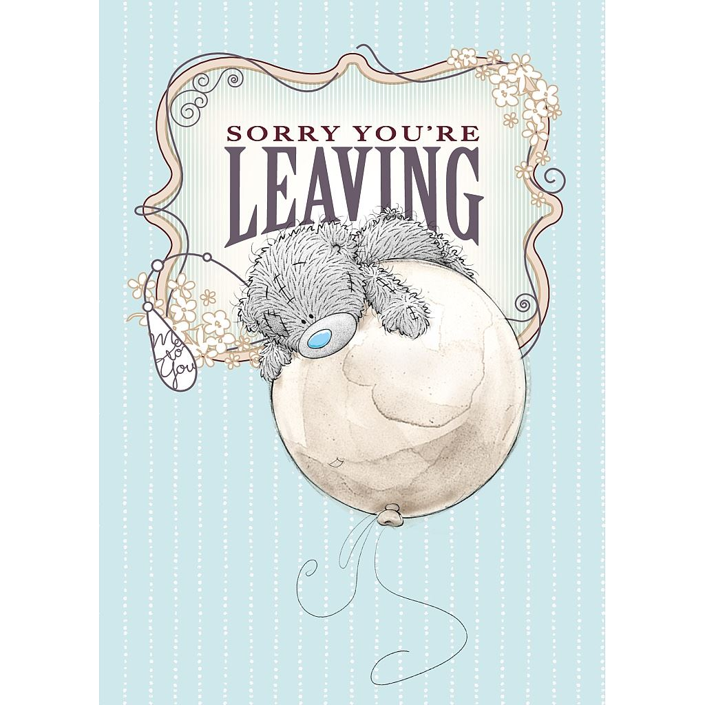 Me To You Huge Greetings Cards Selection Leaving Retirement Sorry
