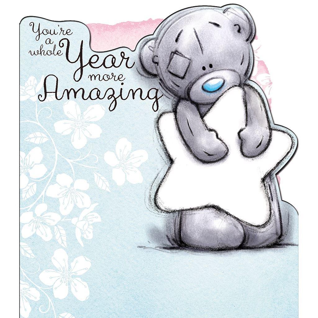 Me To You Birthday Card Variety Various Tatty Teddy Bday Greetings