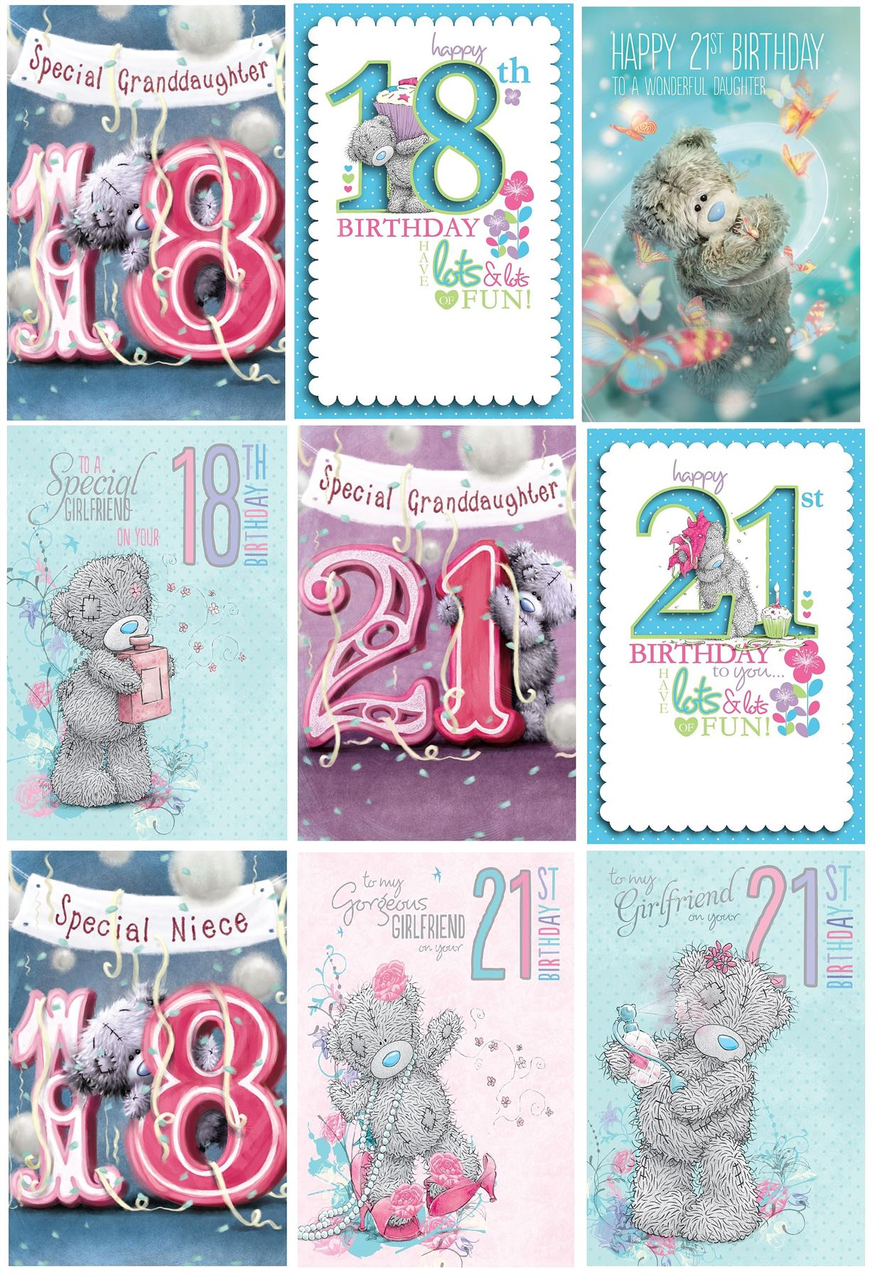 Elegant birthday cards for niece graphics laughterisaleap me to you birthday cards 18th 21st milestone birthday greetings kristyandbryce Image collections