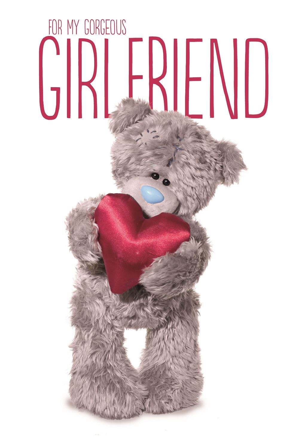 Me to You for My Girlfriend 3d Hologram Birthday Card Tatty Teddy – Me to You Birthday Card