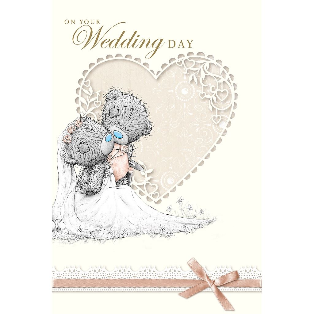 Me to You Wedding Cards Bride Groom Husband Wife Congratulation Card ...