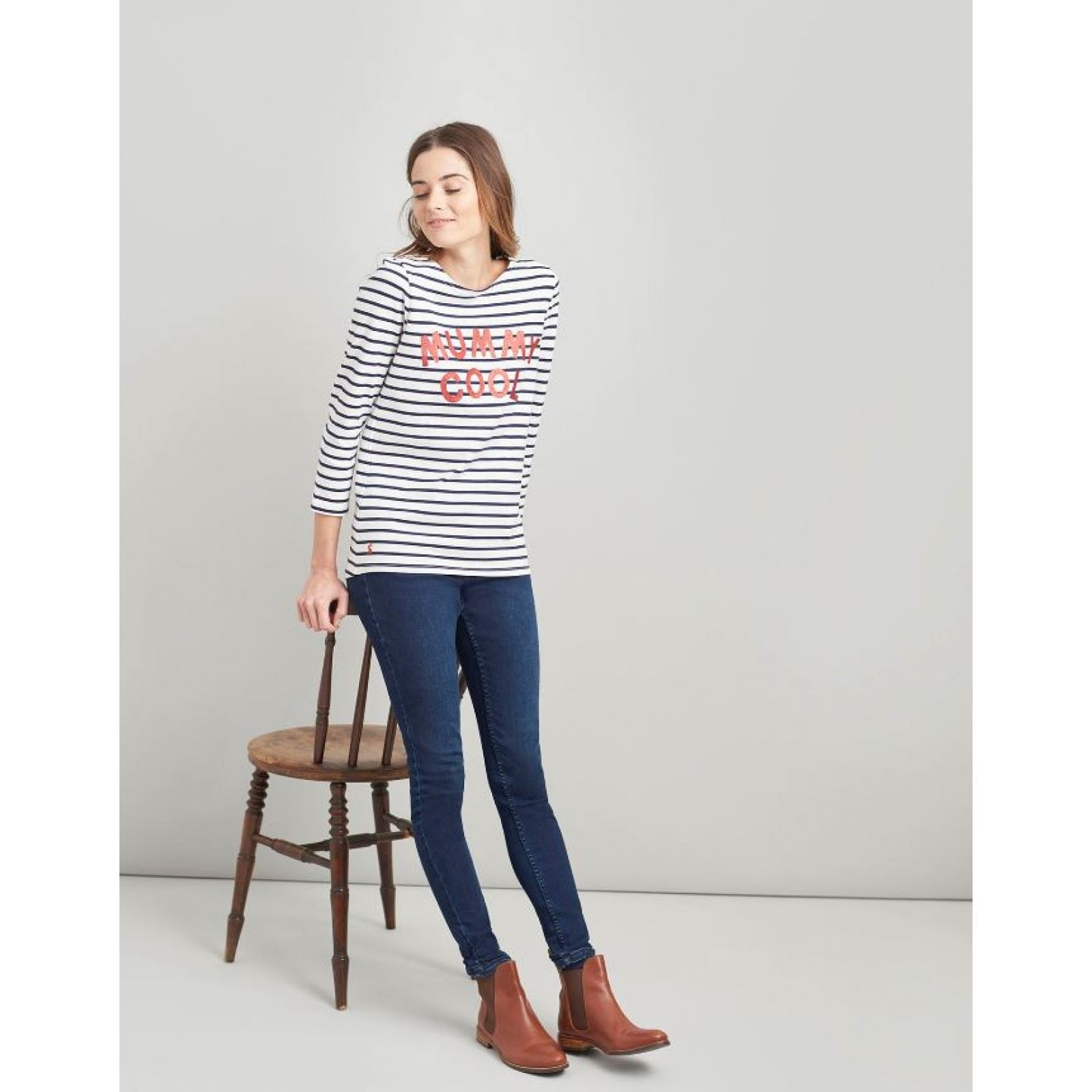 Joules-Harbour-Printed-3-4-Sleeve-Jersey-Top-SS19 thumbnail 36