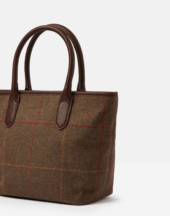 Joules-Carey-Tweed-Grab-Bag-Handbag-AW19 miniature 6