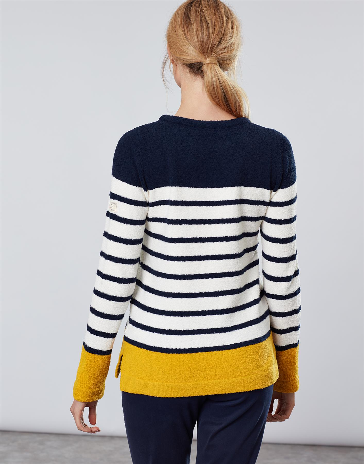 Jersey-De-Chenille-Joules-Para-Mujer-Seaham-Suave-AW19 miniatura 13