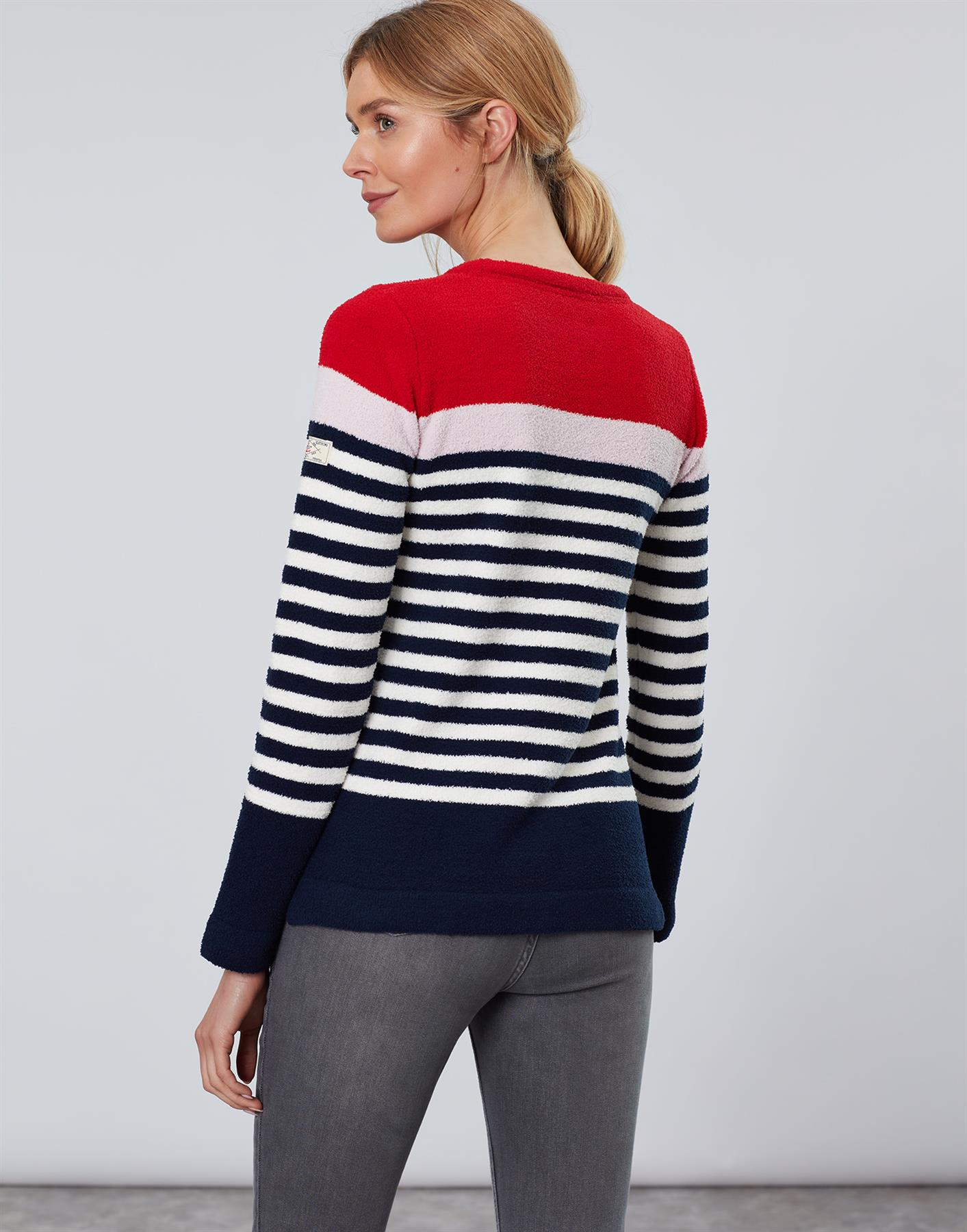 Jersey-De-Chenille-Joules-Para-Mujer-Seaham-Suave-AW19 miniatura 5