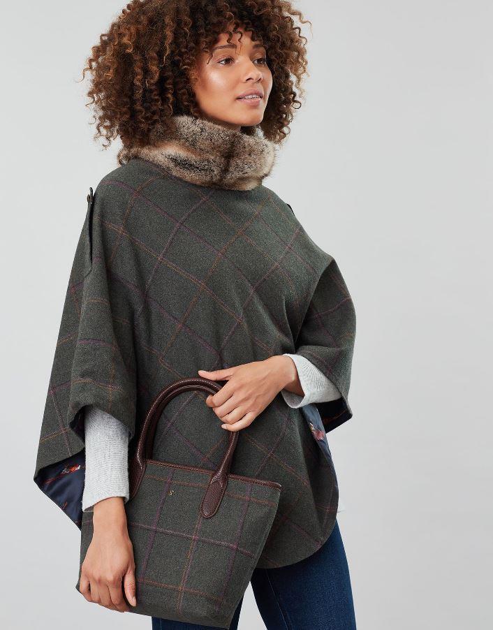 Joules-Carey-Tweed-Grab-Bag-Handbag-AW19 miniature 12