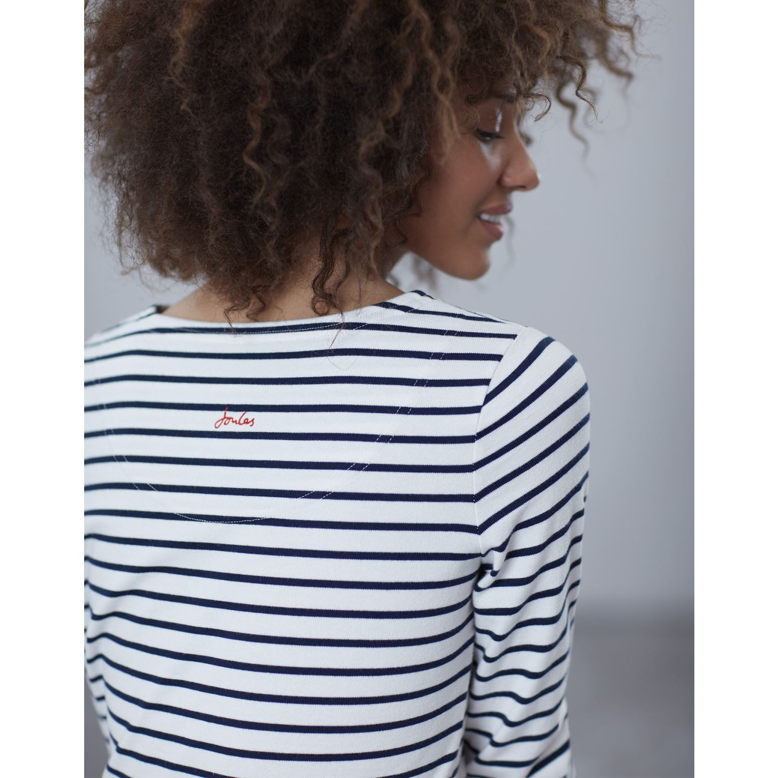 Joules-Harbour-Long-Sleeve-Jersey-Top-ALL-COLOURS thumbnail 17