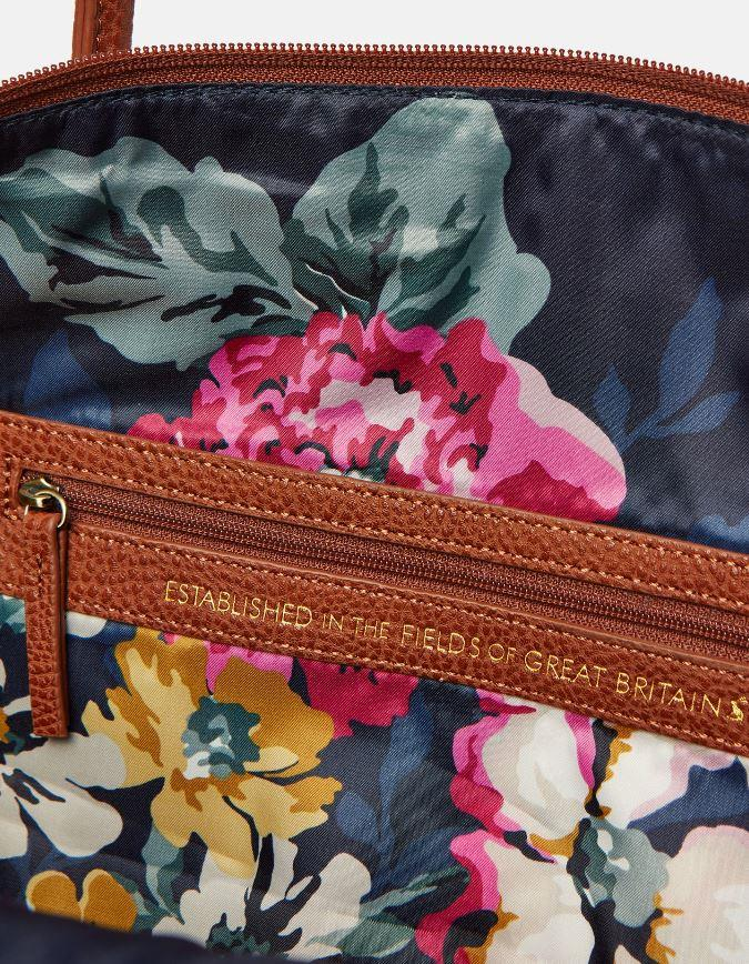 Joules-Paddington-Tweed-Holdall-Overnight-Bag miniature 11