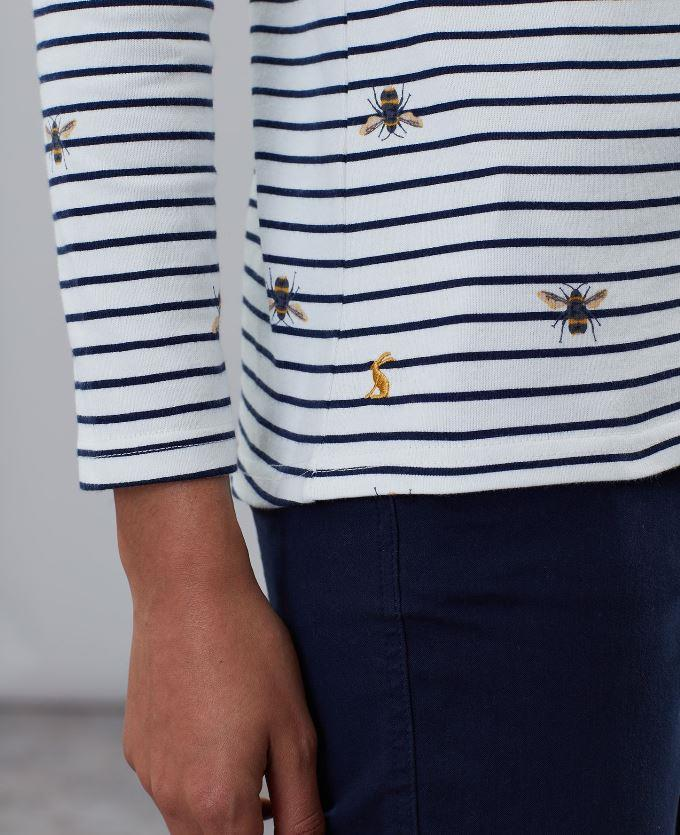 Joules-Harbour-Print-Long-Sleeve-Jersey-Top-ALL-COLOURS thumbnail 5