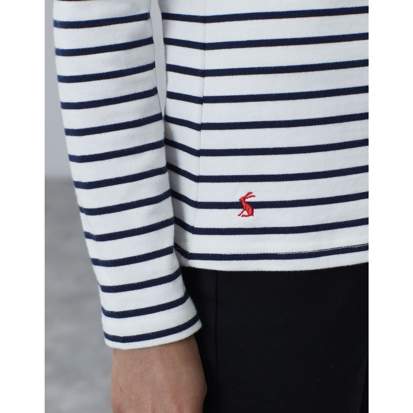 Joules-Harbour-Long-Sleeve-Jersey-Top-ALL-COLOURS thumbnail 19
