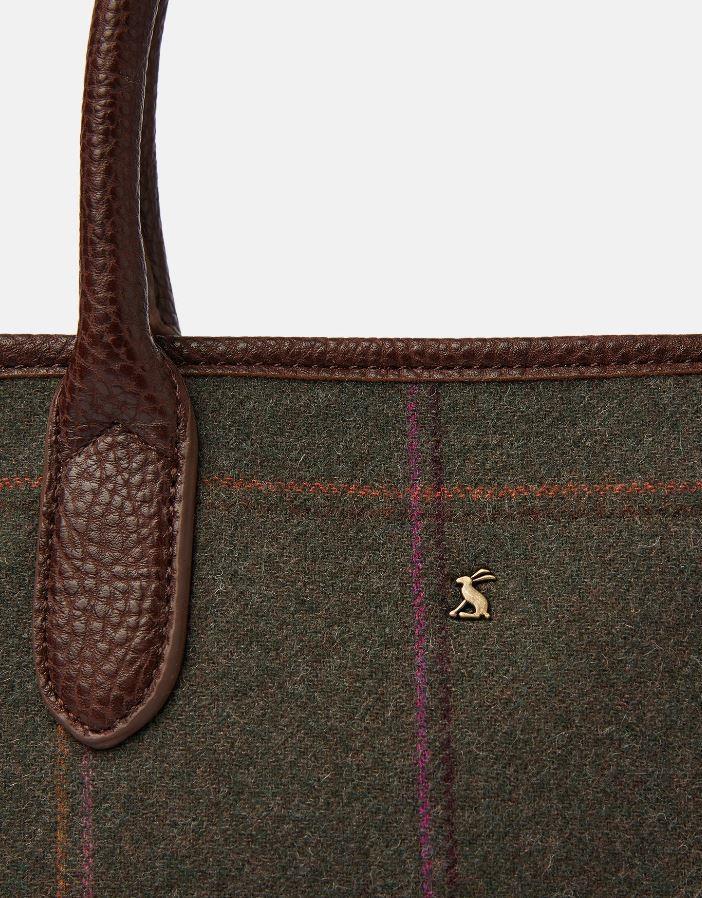 Joules-Carey-Tweed-Grab-Bag-Handbag-AW19 miniature 10