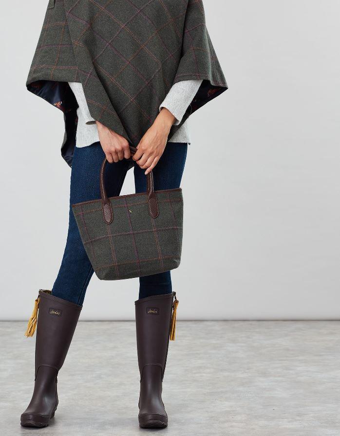 Joules-Carey-Tweed-Grab-Bag-Handbag-AW19 miniature 13