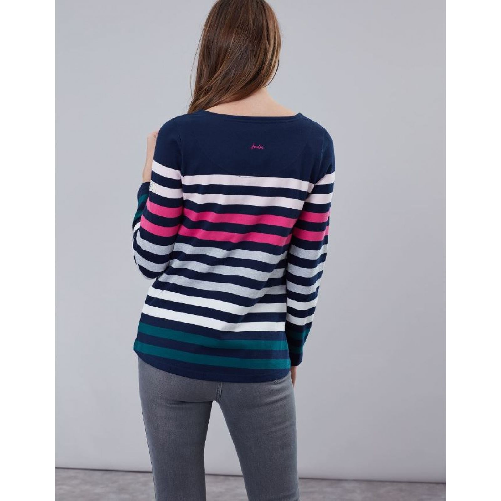 Joules-Harbour-Long-Sleeve-Jersey-Top-ALL-COLOURS thumbnail 9