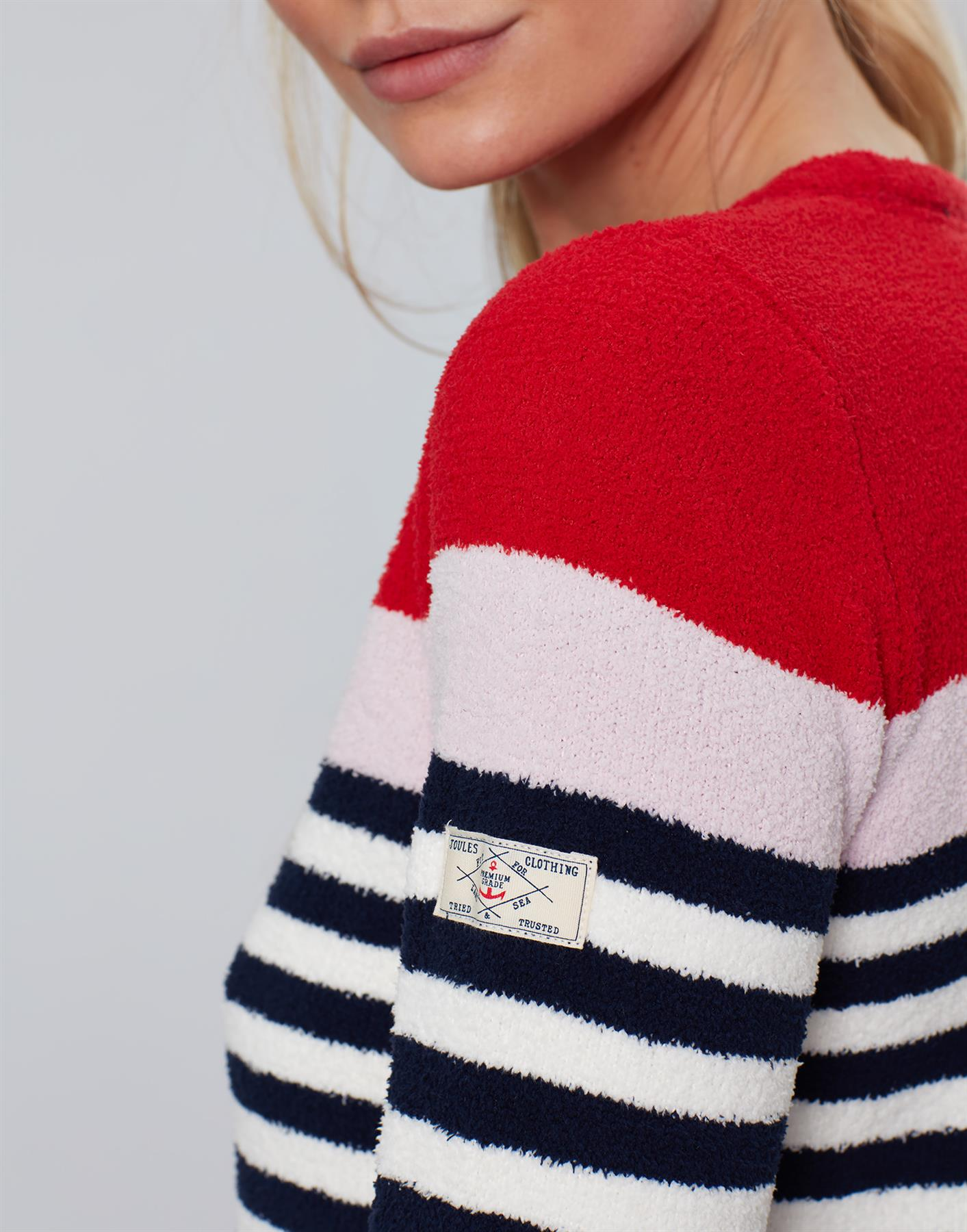 Jersey-De-Chenille-Joules-Para-Mujer-Seaham-Suave-AW19 miniatura 3