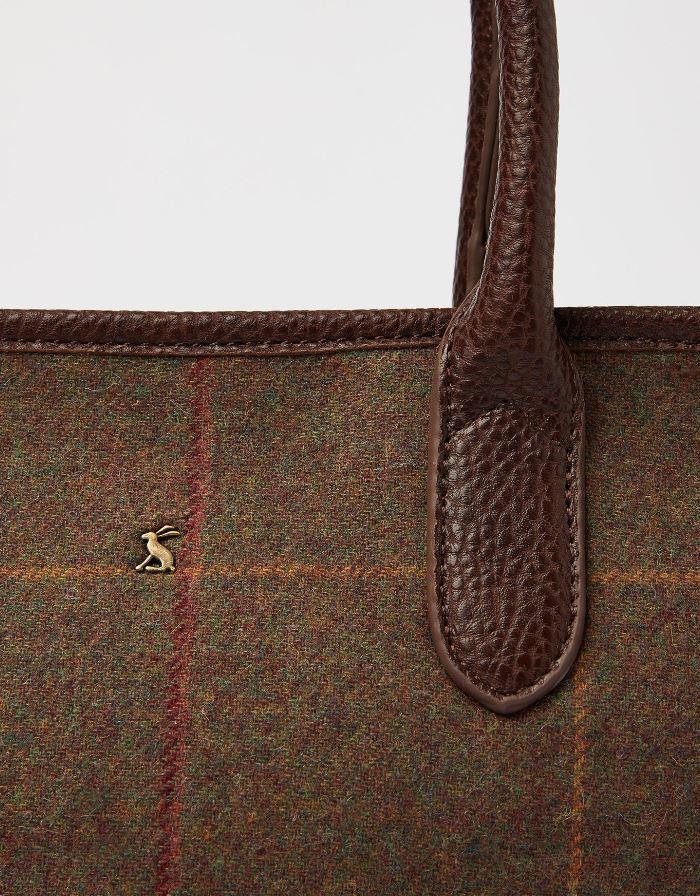 Joules-Carey-Tweed-Grab-Bag-Handbag-AW19 miniature 7
