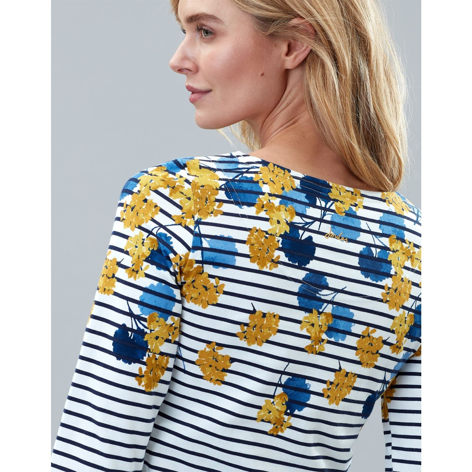 Joules-Harbour-Print-Long-Sleeve-Jersey-Top-ALL-COLOURS thumbnail 12