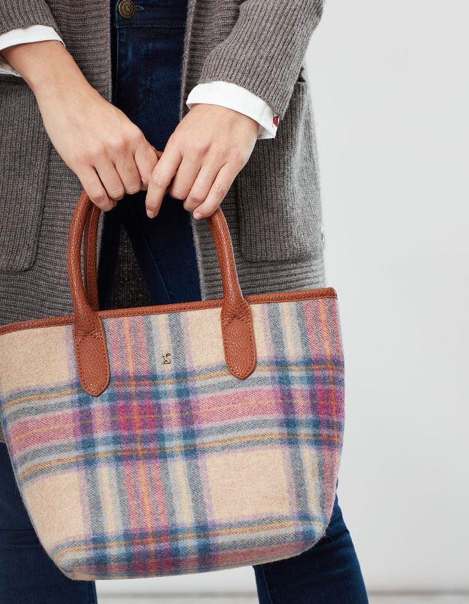 Joules-Carey-Tweed-Grab-Bag-Handbag-AW19 miniature 21
