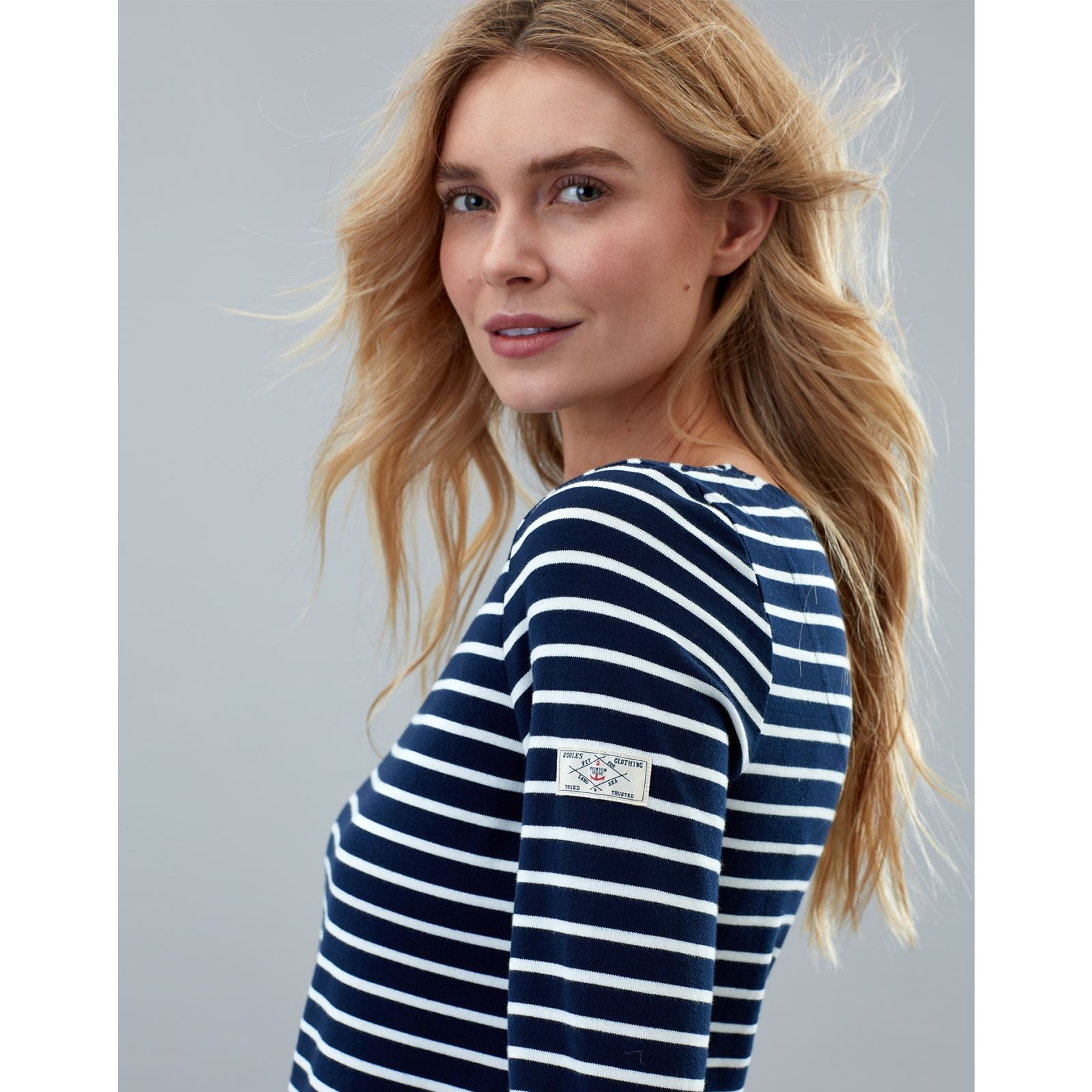 Joules-Harbour-Long-Sleeve-Jersey-Top-ALL-COLOURS thumbnail 24