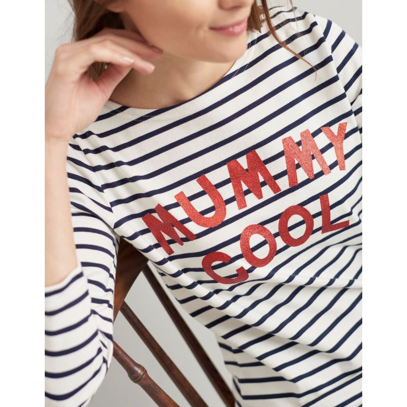 Joules-Harbour-Printed-3-4-Sleeve-Jersey-Top-SS19 thumbnail 38