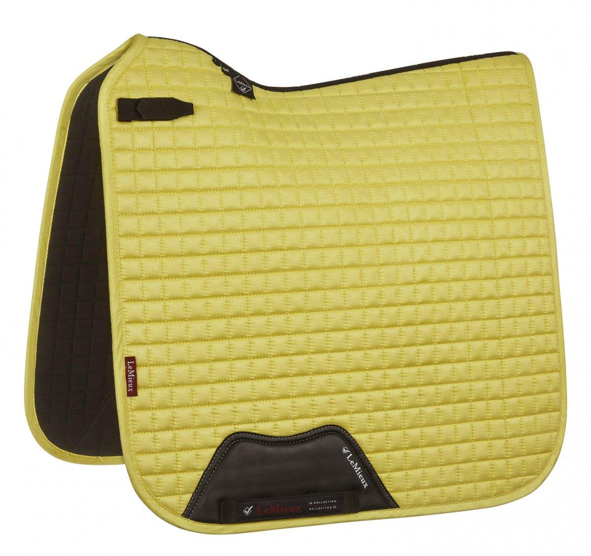 LeMieux-Prosport-Suede-Dressage-Square-Saddlecloth-All-Colours miniature 12