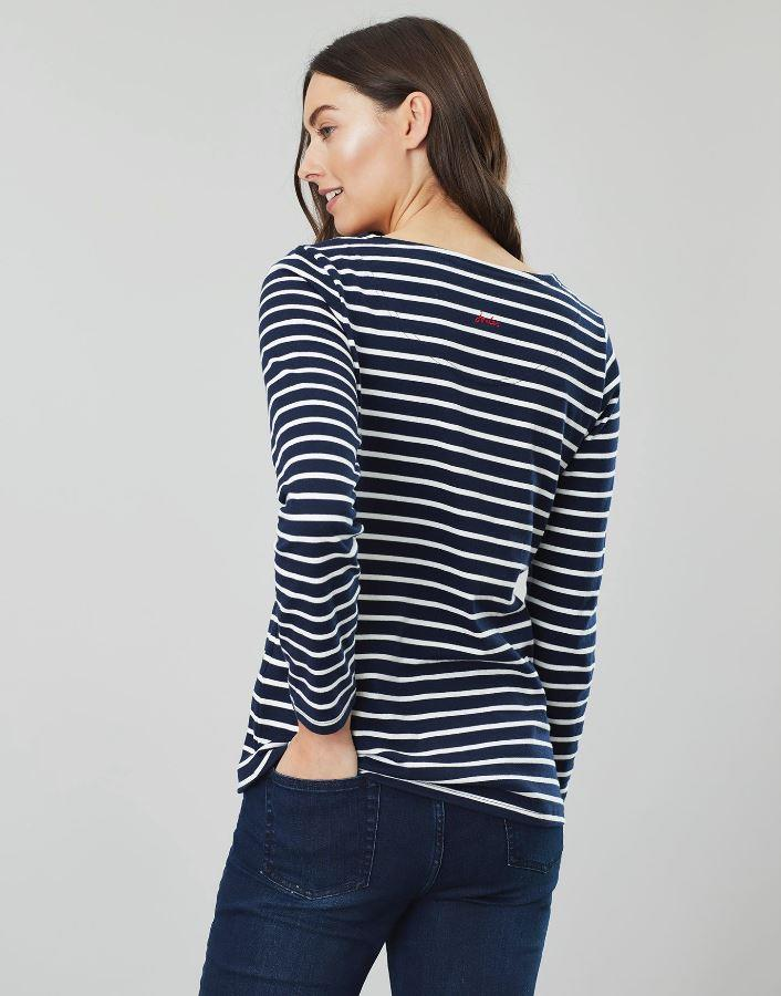 Joules-Womens-Harbour-Luxe-Long-Sleeve-Jersey-Top-AW19 thumbnail 25