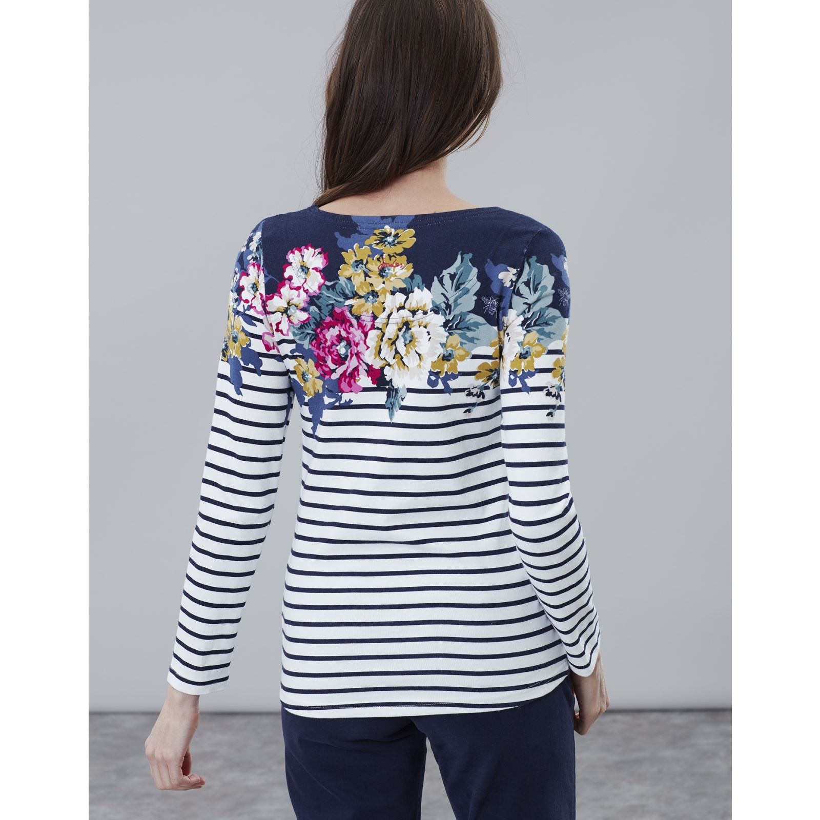 Joules-Harbour-Print-Long-Sleeve-Jersey-Top-ALL-COLOURS thumbnail 48