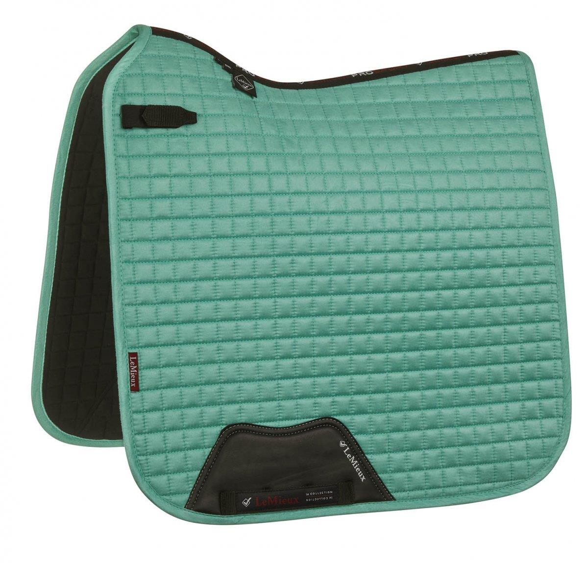 LeMieux-Prosport-Suede-Dressage-Square-Saddlecloth-All-Colours miniature 22