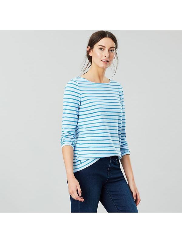 Joules-Harbour-Long-Sleeve-Jersey-Top-ALL-COLOURS thumbnail 6