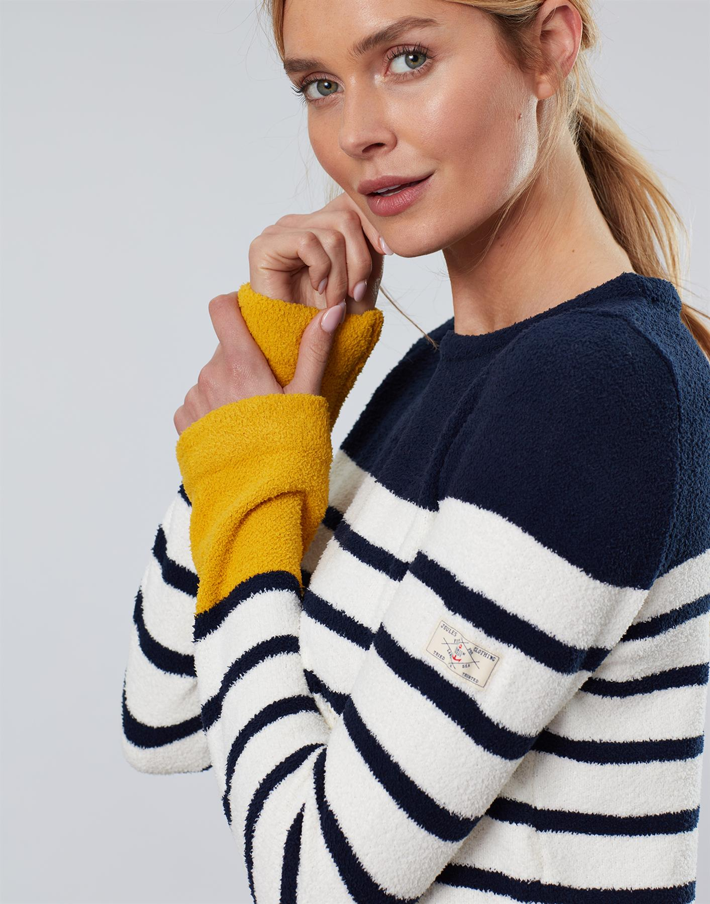 Jersey-De-Chenille-Joules-Para-Mujer-Seaham-Suave-AW19 miniatura 10