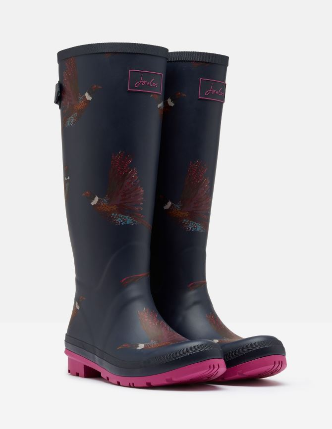 Joules-Welly-Print-with-Adjustable-Back-Gusset-MORE-COLOURS thumbnail 15