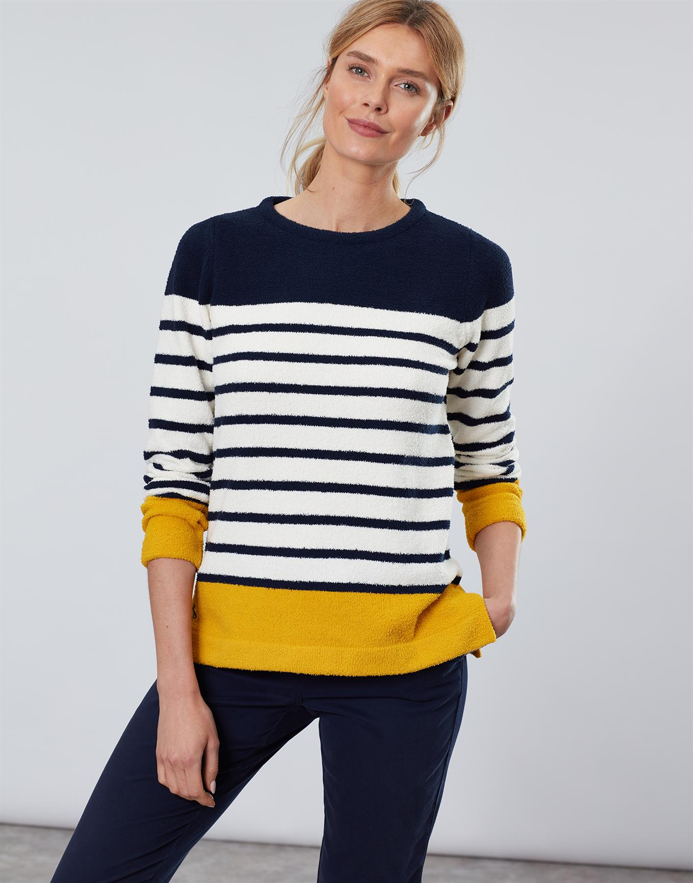 Jersey-De-Chenille-Joules-Para-Mujer-Seaham-Suave-AW19 miniatura 9