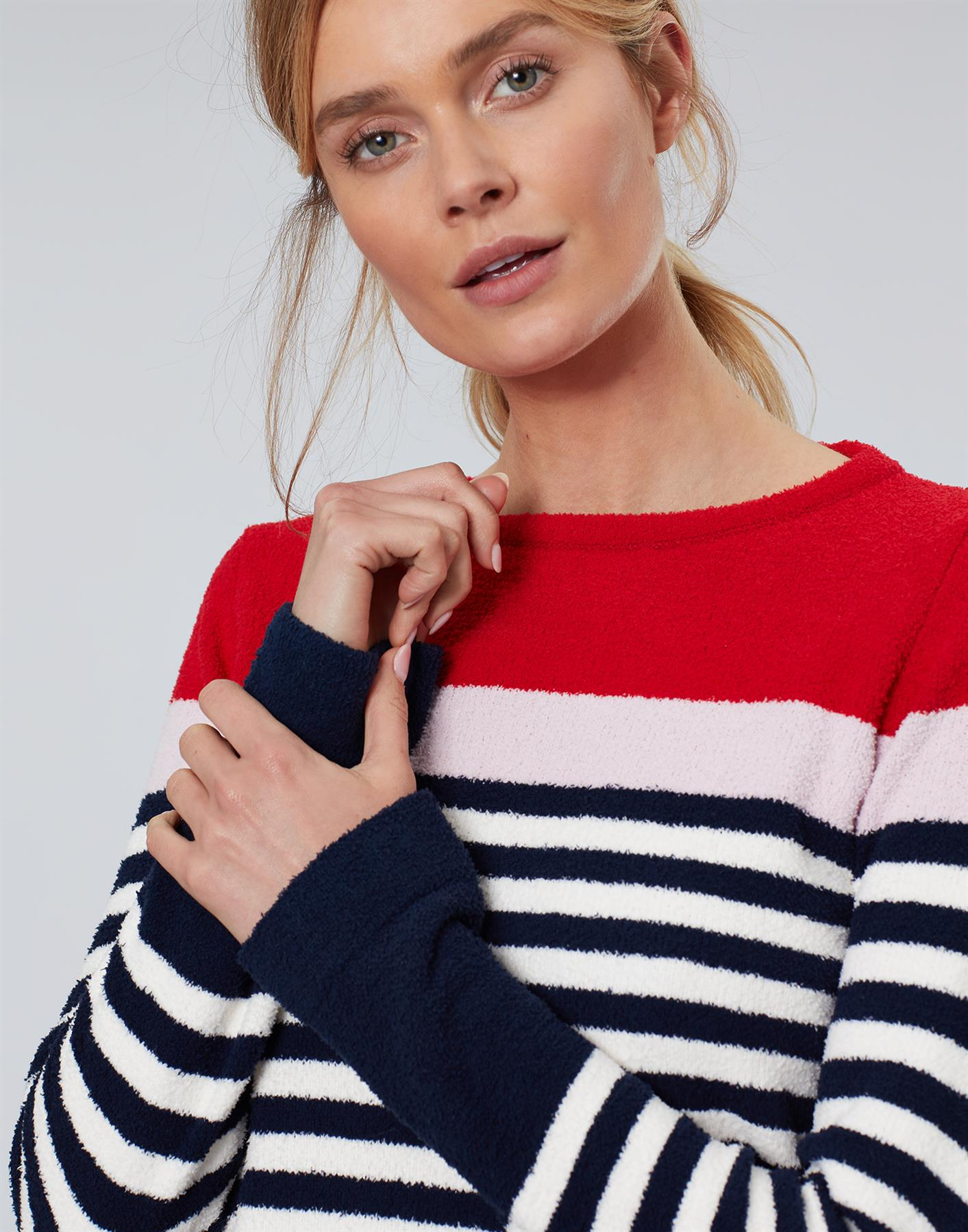 Jersey-De-Chenille-Joules-Para-Mujer-Seaham-Suave-AW19 miniatura 6