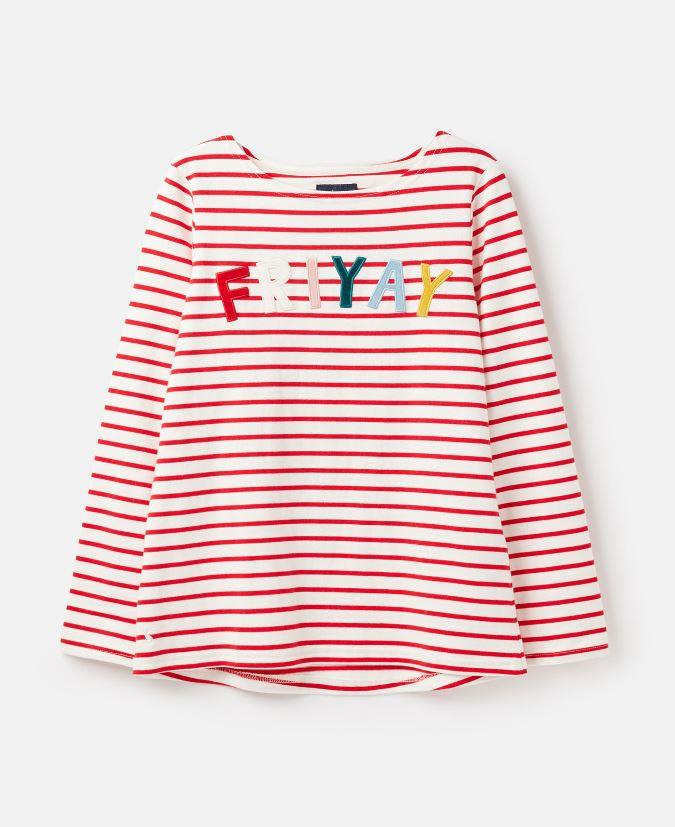 Joules-Womens-Harbour-Luxe-Long-Sleeve-Jersey-Top-AW19 thumbnail 14