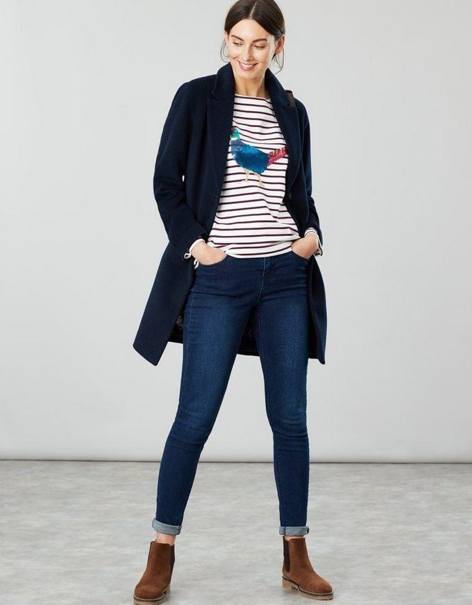 Joules-Womens-Harbour-Luxe-Long-Sleeve-Jersey-Top-AW19 thumbnail 18