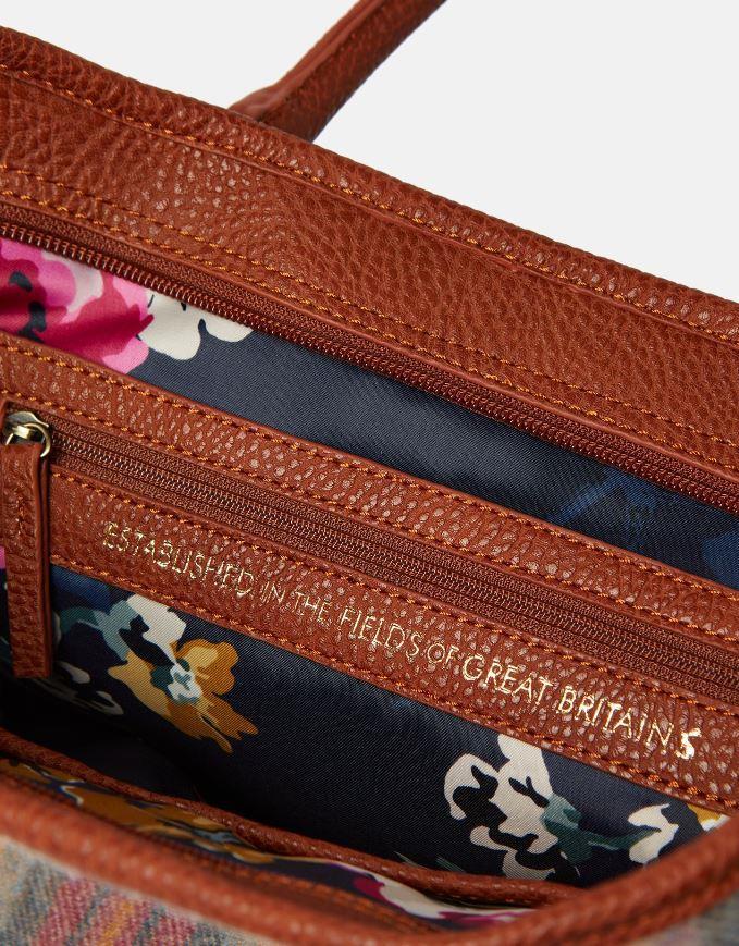 Joules-Carey-Tweed-Grab-Bag-Handbag-AW19 miniature 17