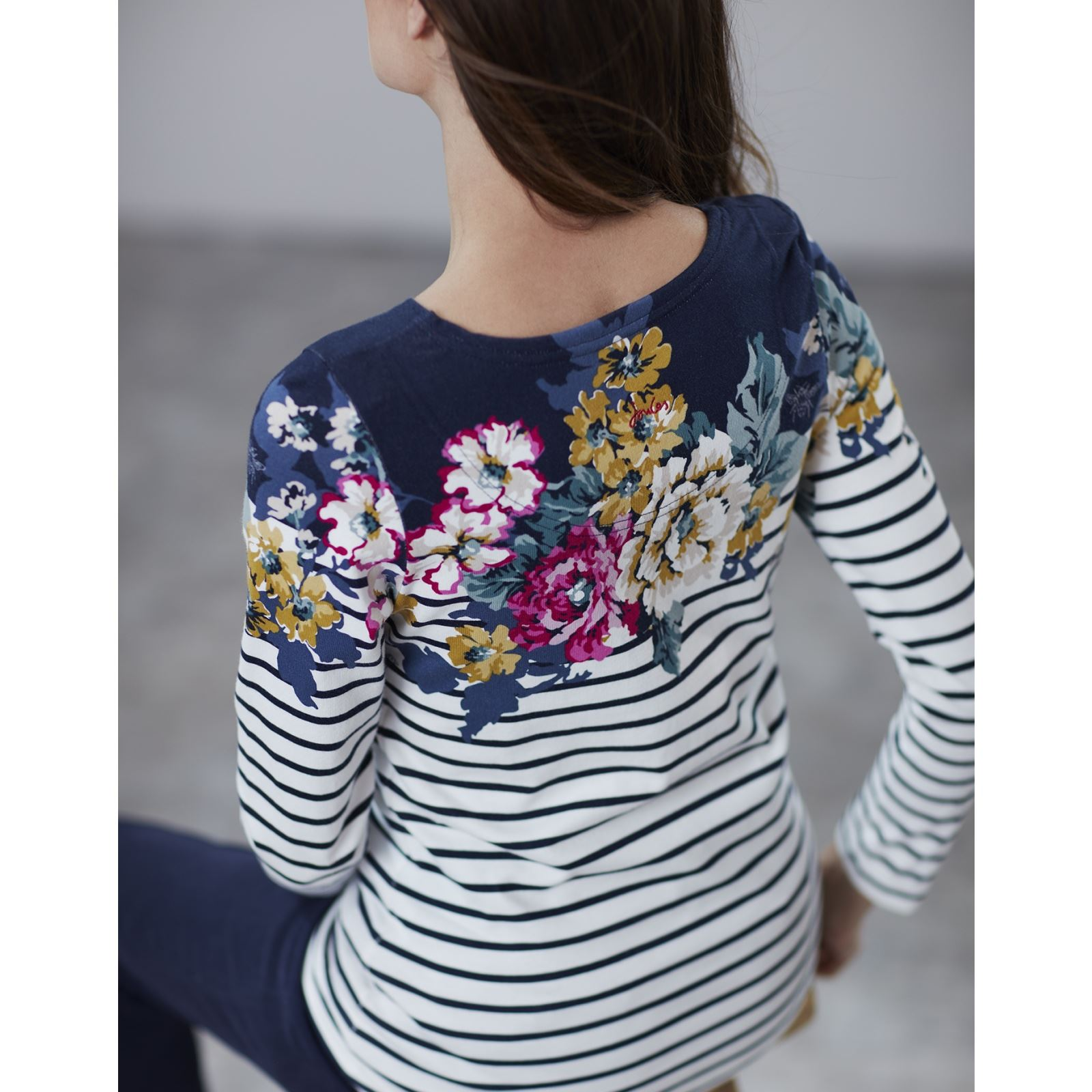 Joules-Harbour-Print-Long-Sleeve-Jersey-Top-ALL-COLOURS thumbnail 47