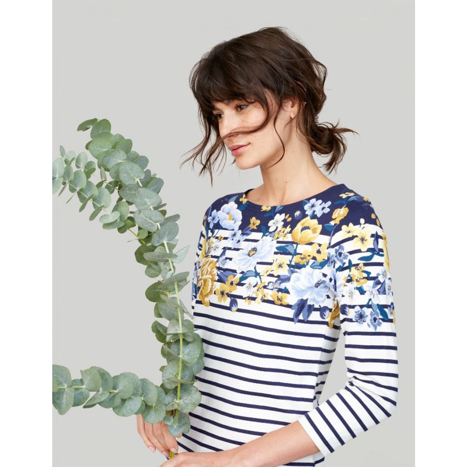 Joules-Harbour-Printed-3-4-Sleeve-Jersey-Top-SS19 thumbnail 32