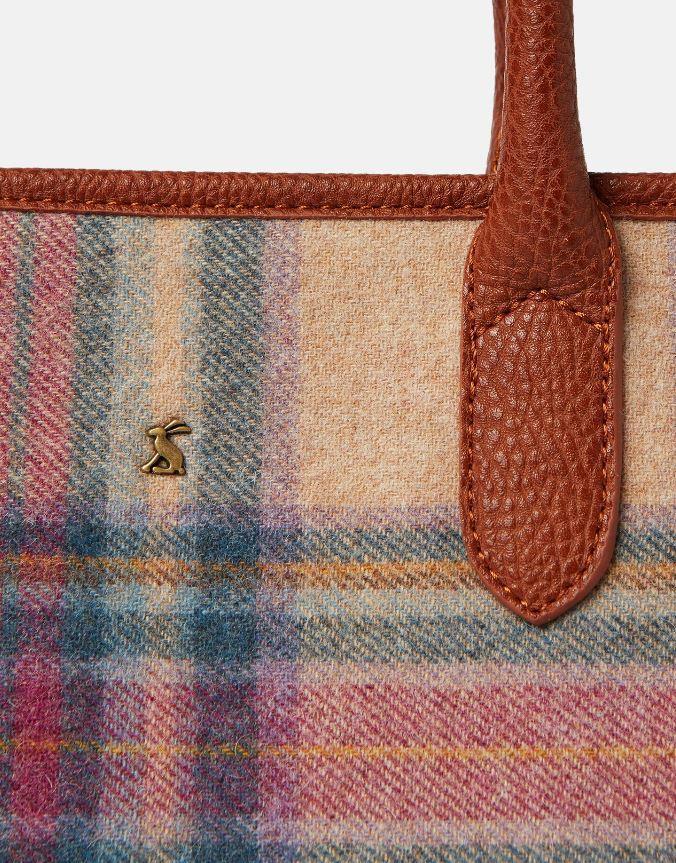 Joules-Carey-Tweed-Grab-Bag-Handbag-AW19 miniature 16