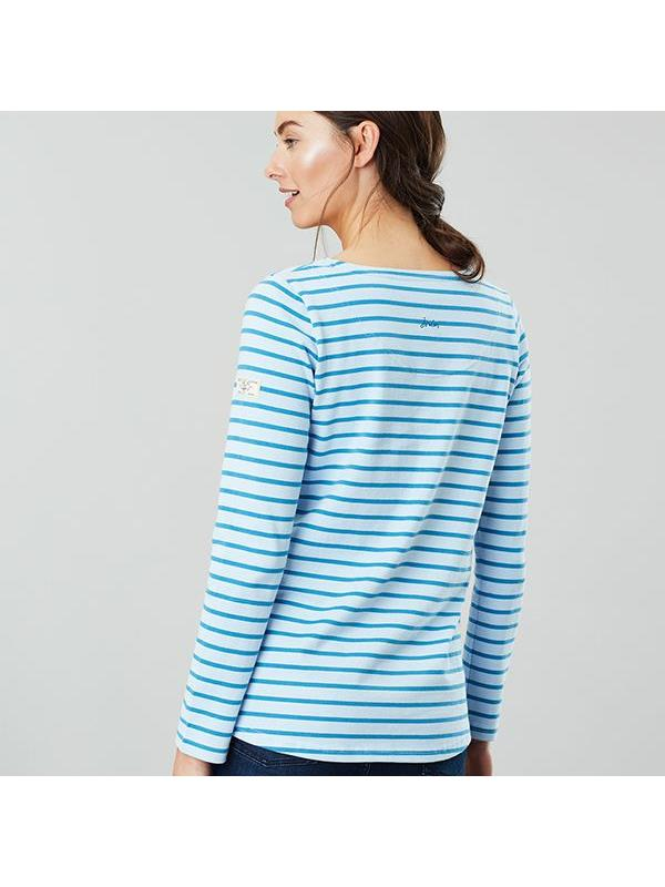 Joules-Harbour-Long-Sleeve-Jersey-Top-ALL-COLOURS thumbnail 7