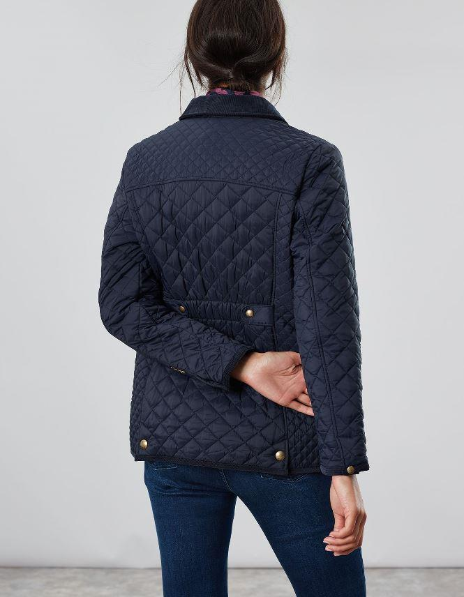 Joules-Womens-Newdale-Quilted-Fitted-Jacket-AW19 thumbnail 3