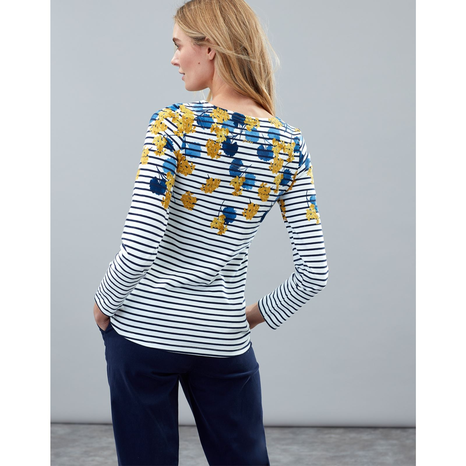 Joules-Harbour-Print-Long-Sleeve-Jersey-Top-ALL-COLOURS thumbnail 11