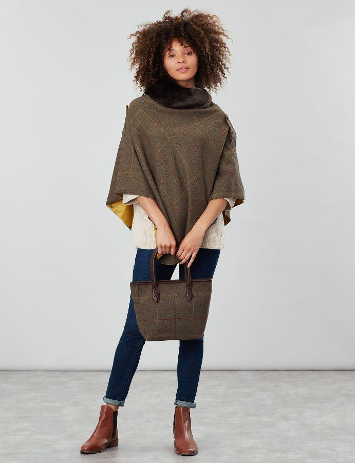 Joules-Carey-Tweed-Grab-Bag-Handbag-AW19 miniature 5