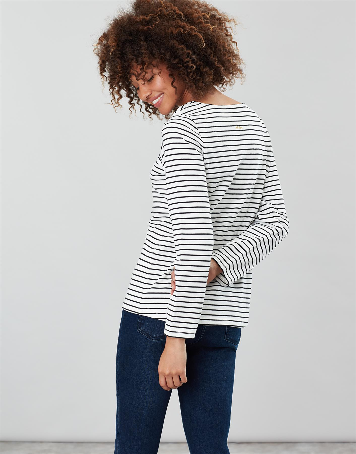 Joules-Harbour-Print-Long-Sleeve-Jersey-Top-ALL-COLOURS thumbnail 40