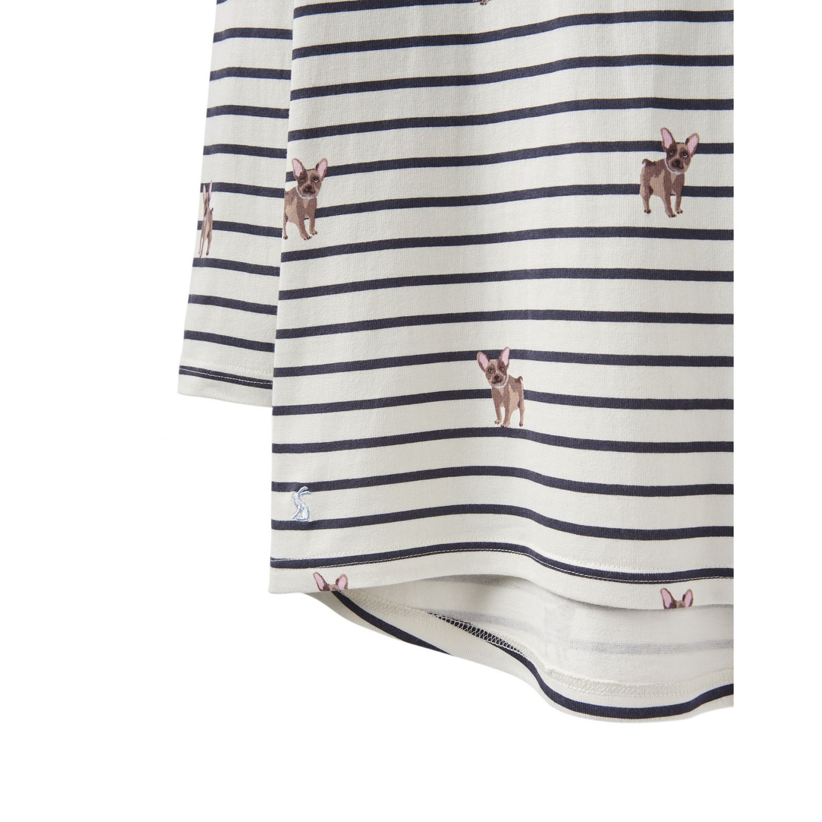 Joules-Harbour-Printed-3-4-Sleeve-Jersey-Top-SS19 thumbnail 56