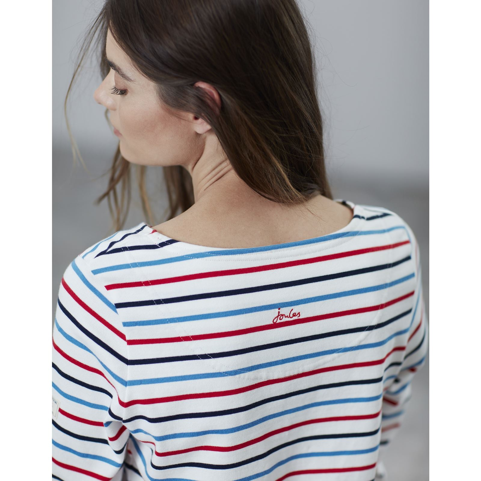 Joules-Harbour-Long-Sleeve-Jersey-Top-ALL-COLOURS thumbnail 13