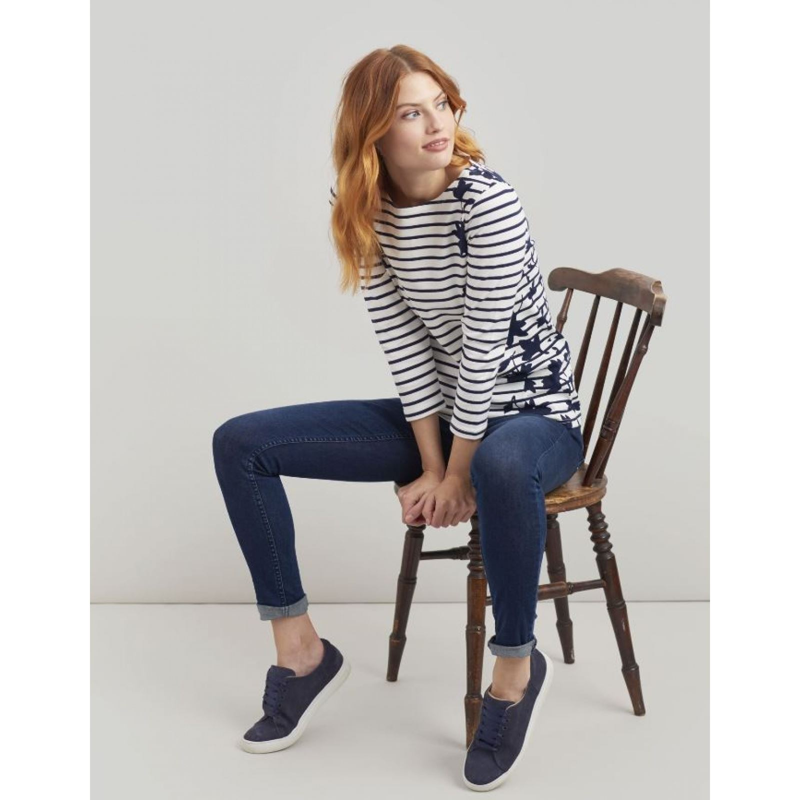 Joules-Harbour-Printed-3-4-Sleeve-Jersey-Top-SS19 thumbnail 24