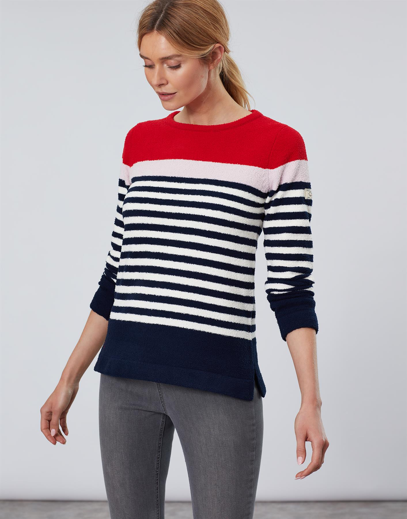 Jersey-De-Chenille-Joules-Para-Mujer-Seaham-Suave-AW19 miniatura 4