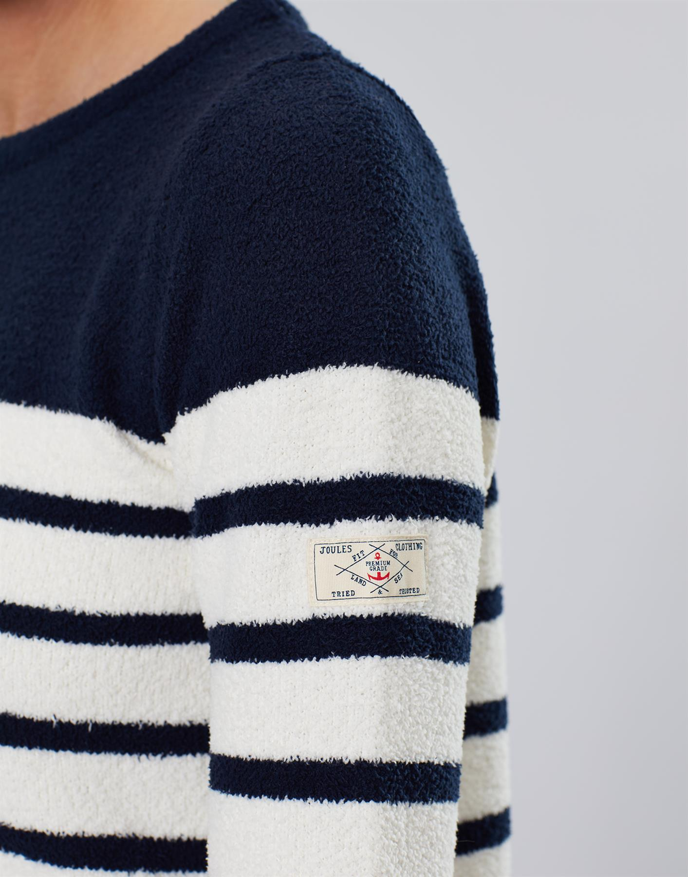 Jersey-De-Chenille-Joules-Para-Mujer-Seaham-Suave-AW19 miniatura 11