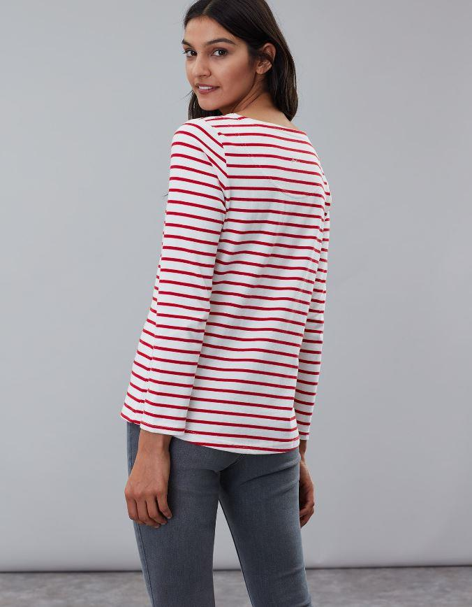Joules-Womens-Harbour-Luxe-Long-Sleeve-Jersey-Top-AW19 thumbnail 6