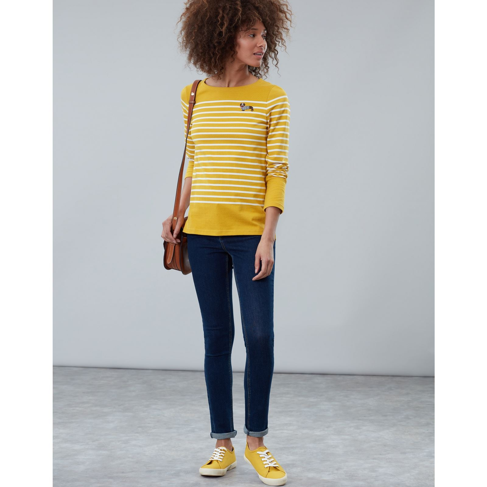 Joules-Harbour-Embroidered-Long-Sleeve-Jersey-Top-MORE-COLOURS thumbnail 11